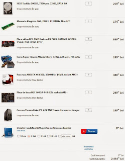 Sistem pc gaming eMAG