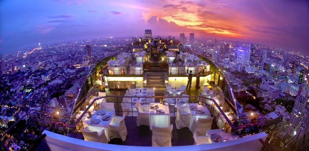 Vertigo Grill Rooftop Restaurant Bangkok