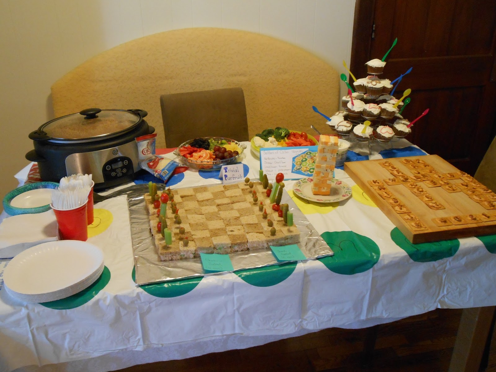 Do it yourself ditders theme parties board game party food solutioingenieria Gallery