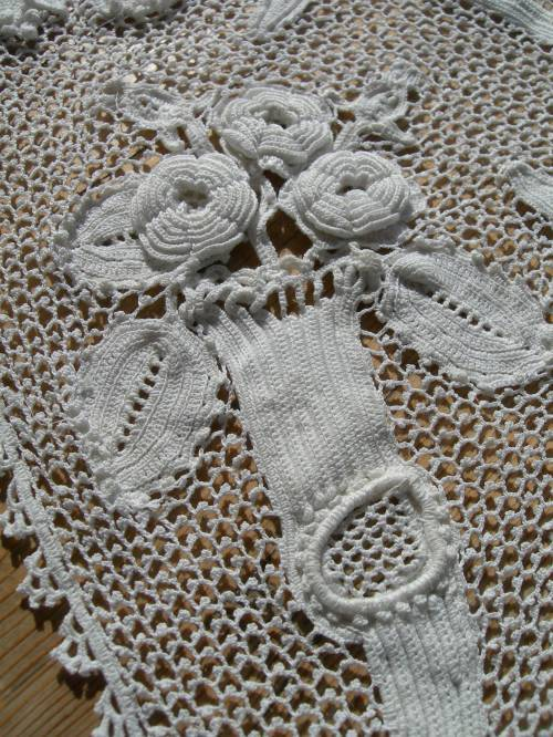 Irish Crochet Together: Antique of the Week--English ...