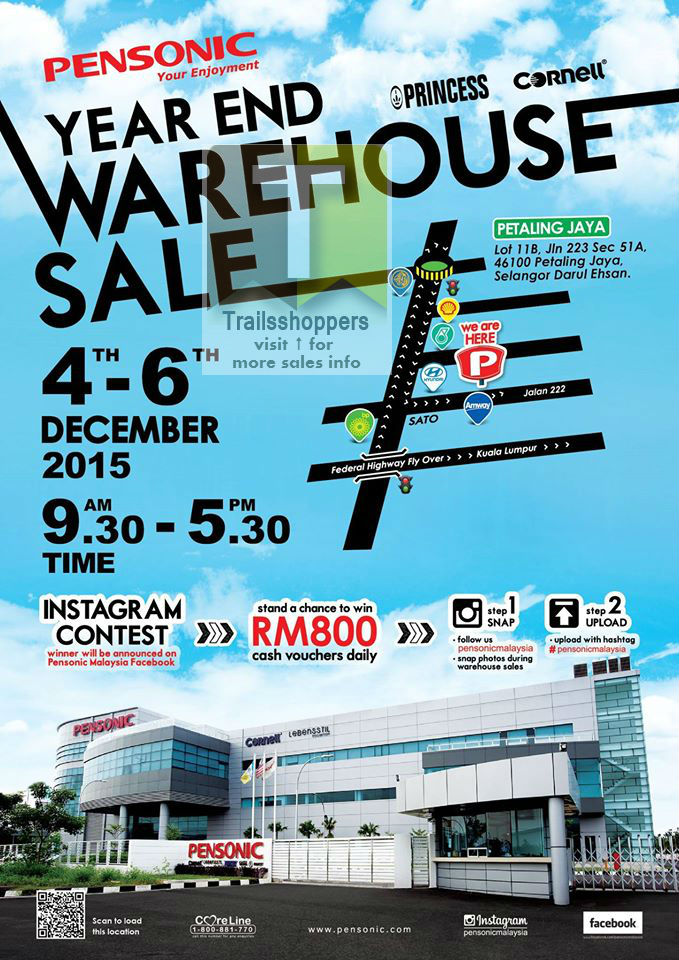 Pensonic Year End Warehouse Sale 2015