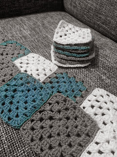 Häkeln, Granny Square, Babydecke, Blog, DIY, Upcycling