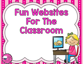Fun Websites for the Elementary Clasroom