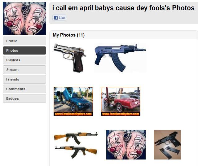 belongs martin skittles iced tea screenshot trayvon martins alleged myspace