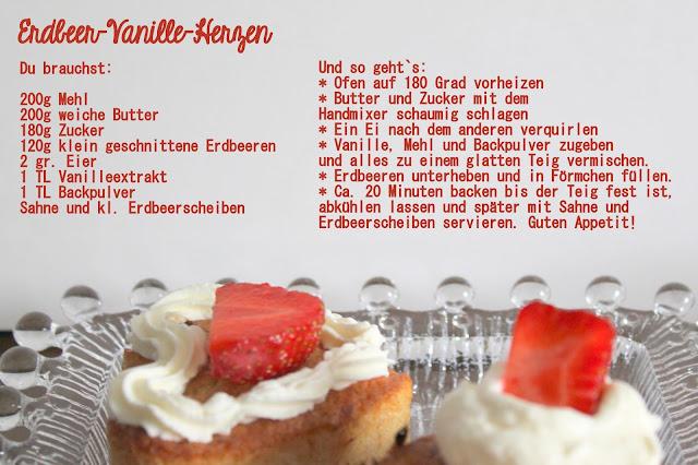 Erdbeer-Vanille-Muffins Rezept