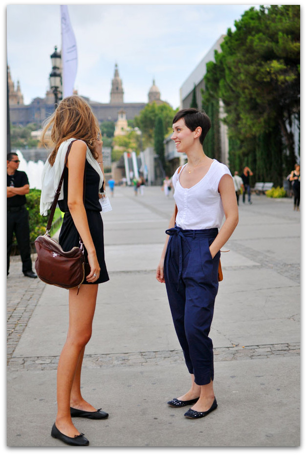 Wear sensible but stylish shoes flats riding boots thin sandals