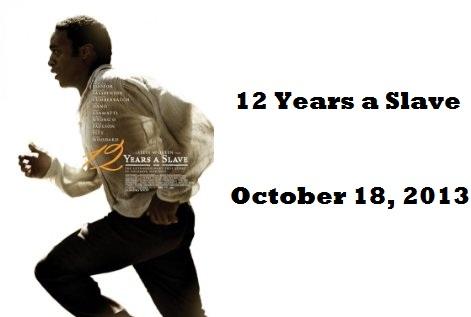 Twelve Years a Slave DVD