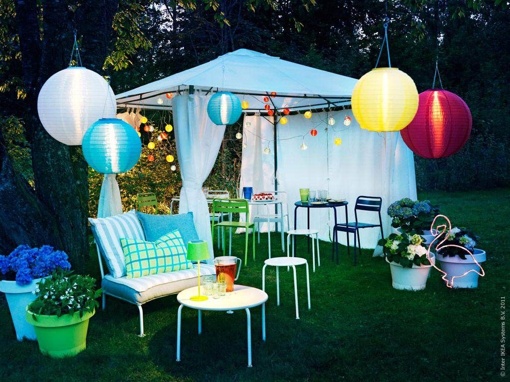 Aurinko ja tuulivoimaa ulkovalaisimeen for Ikea jardines