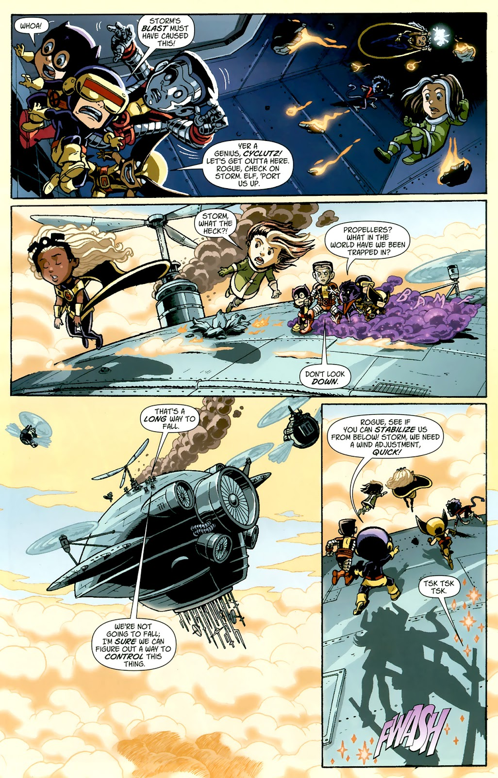 Read online X-Babies comic -  Issue #1 - 17