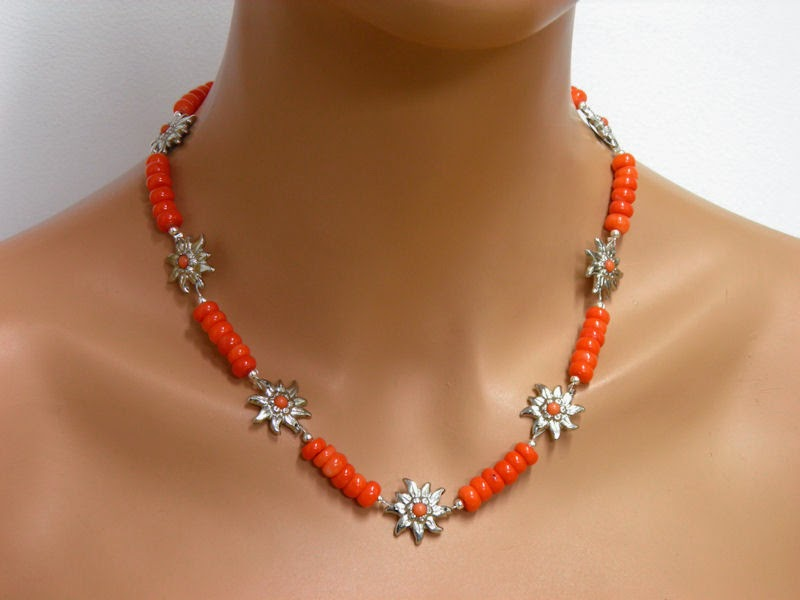 korale góralskie, ekokoral, biżuteria góralska