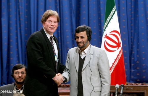 david duke ahmadinejad
