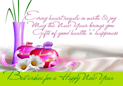 good fortune have a gr8 year ahead happy new year