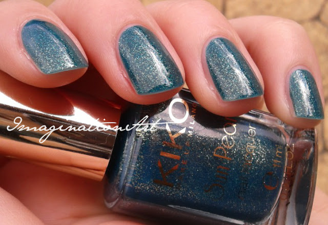 kiko 428 fierce spirit river green swatch swatches smalto nail lacquer polish unghie