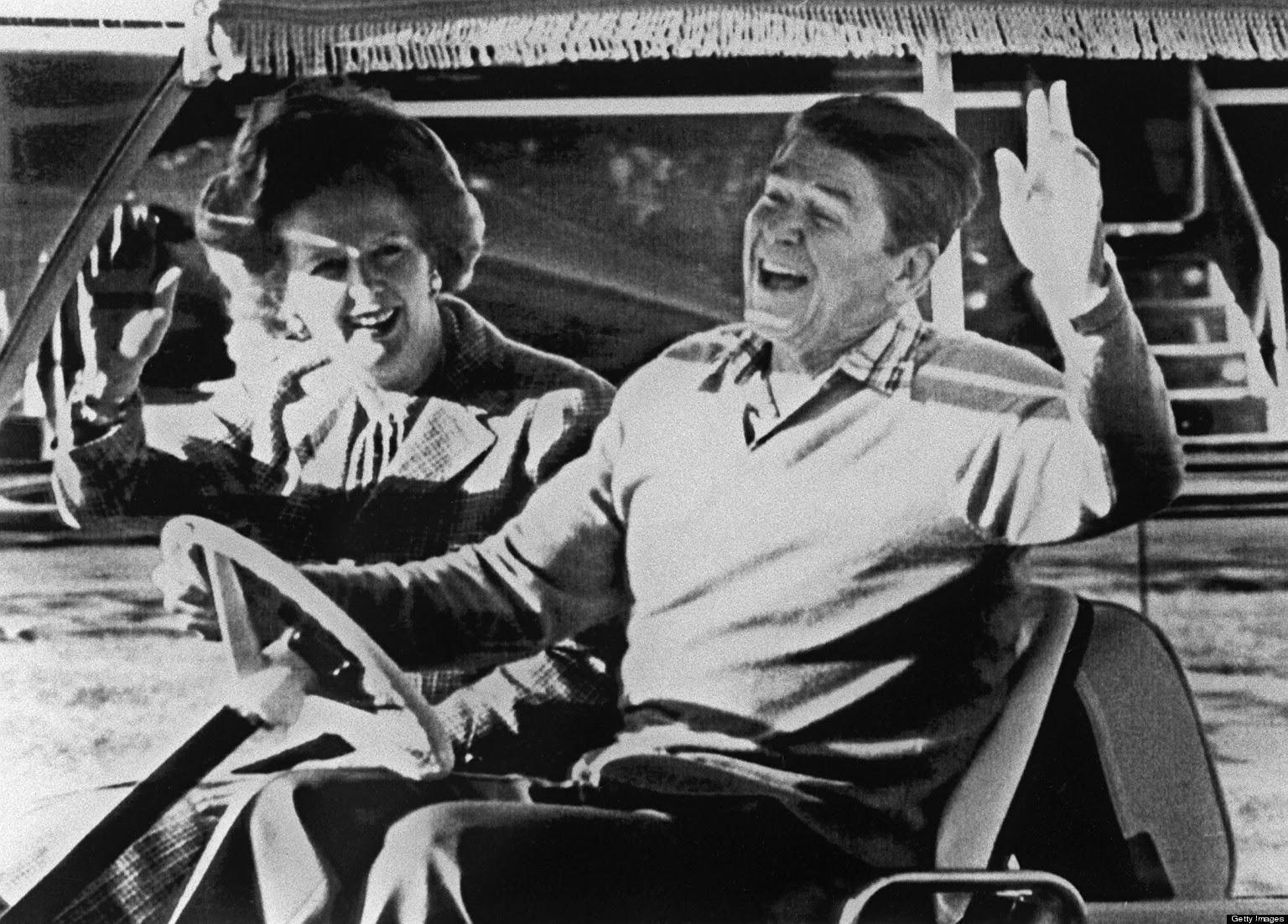 La contribución de Ronald Reagan y Margaret Thatcher