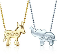 Shop the Vote: Alex Woo Little Activist necklaces