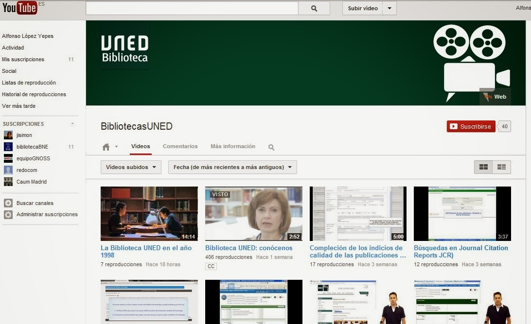Redauvi red iberoamericana de patrimonio audiovisual for Biblioteca uned