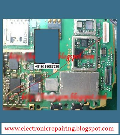 Nokia 5233, 5800 Display Light Fault