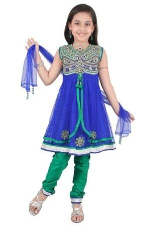 Anarkali-Frock-for-Kids