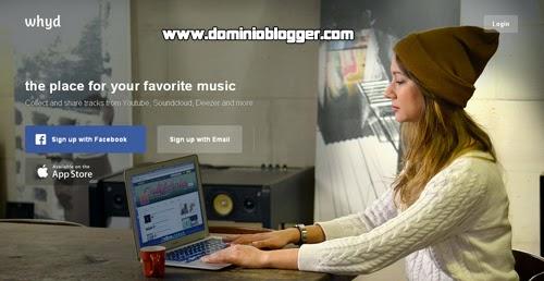 Organiza y escucha tu musica favorita con Whyd