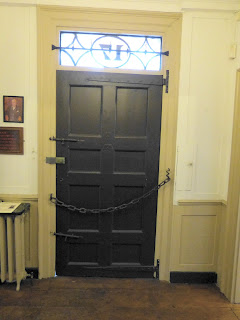 Front door, Dr Johnson's House Museum © Andrew Knowles