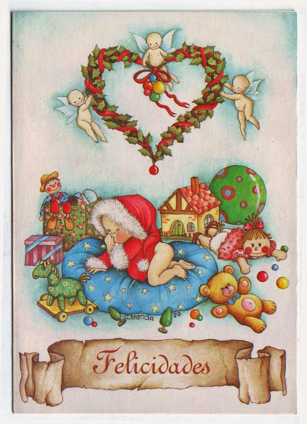 Cristina breccia mu ecos y dibujos tarjetas navide as - Dibujos tarjetas navidenas ...