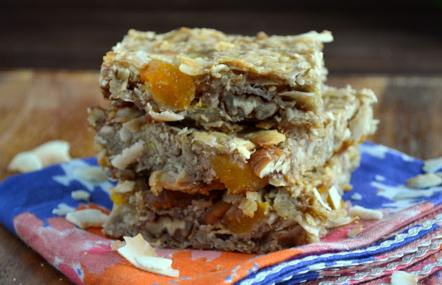 Apricot Breakfast Bars recipe