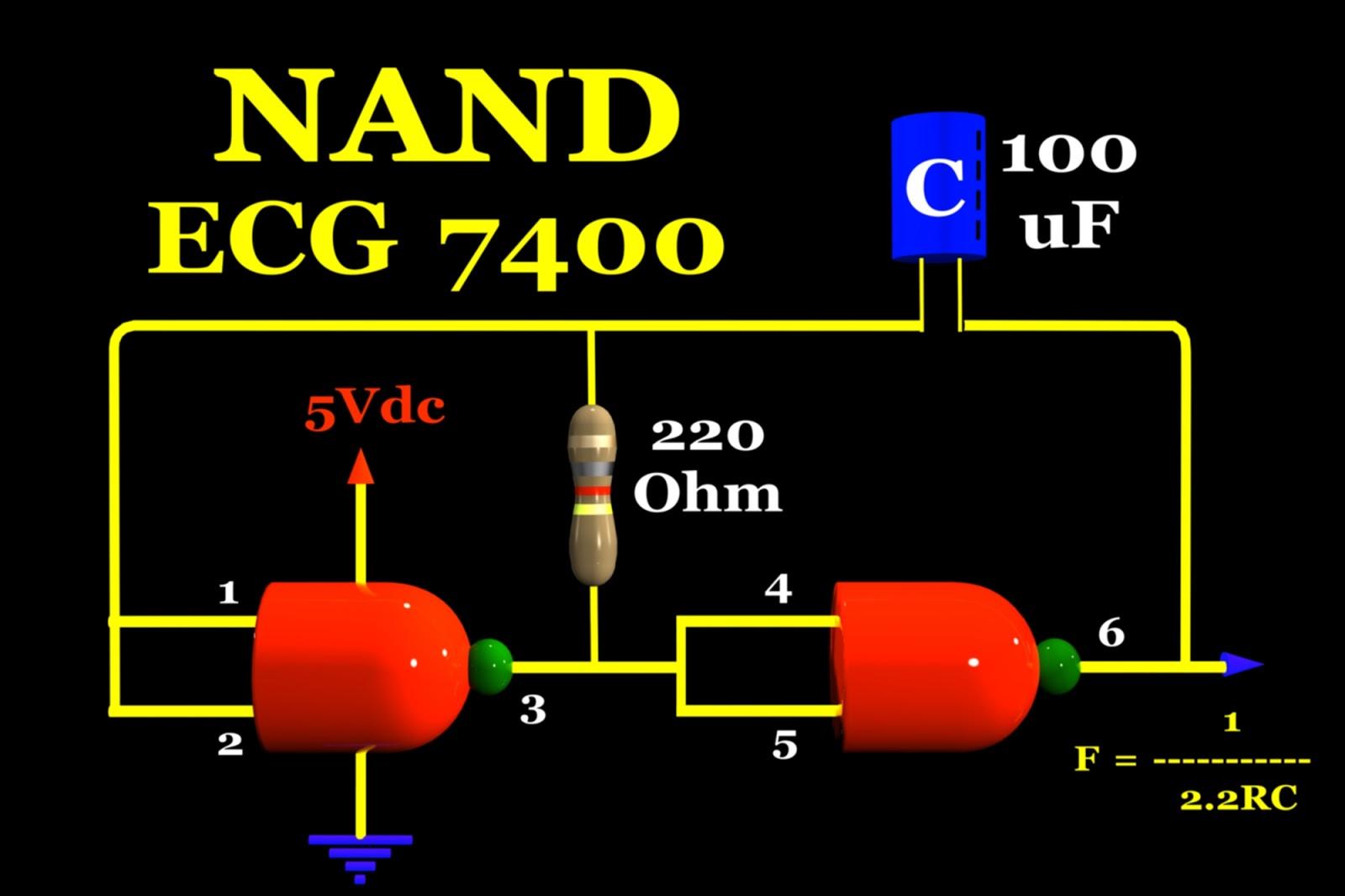 Circuito Nand : Electrónica para el mundo compuerta nand