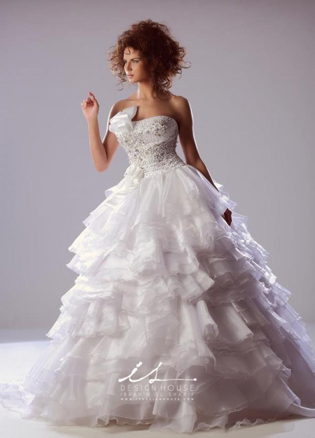 Maravillosos vestidos de novias | Colección Ibrahim El Sharif