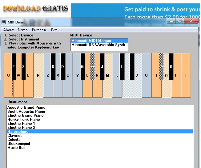 Download Piano Keyboard | Aplikasi Bermain Music Piano