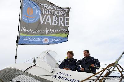 Sébastien Josse et Charles Caudrelier, duo sur la Transat Jacques Vabre.
