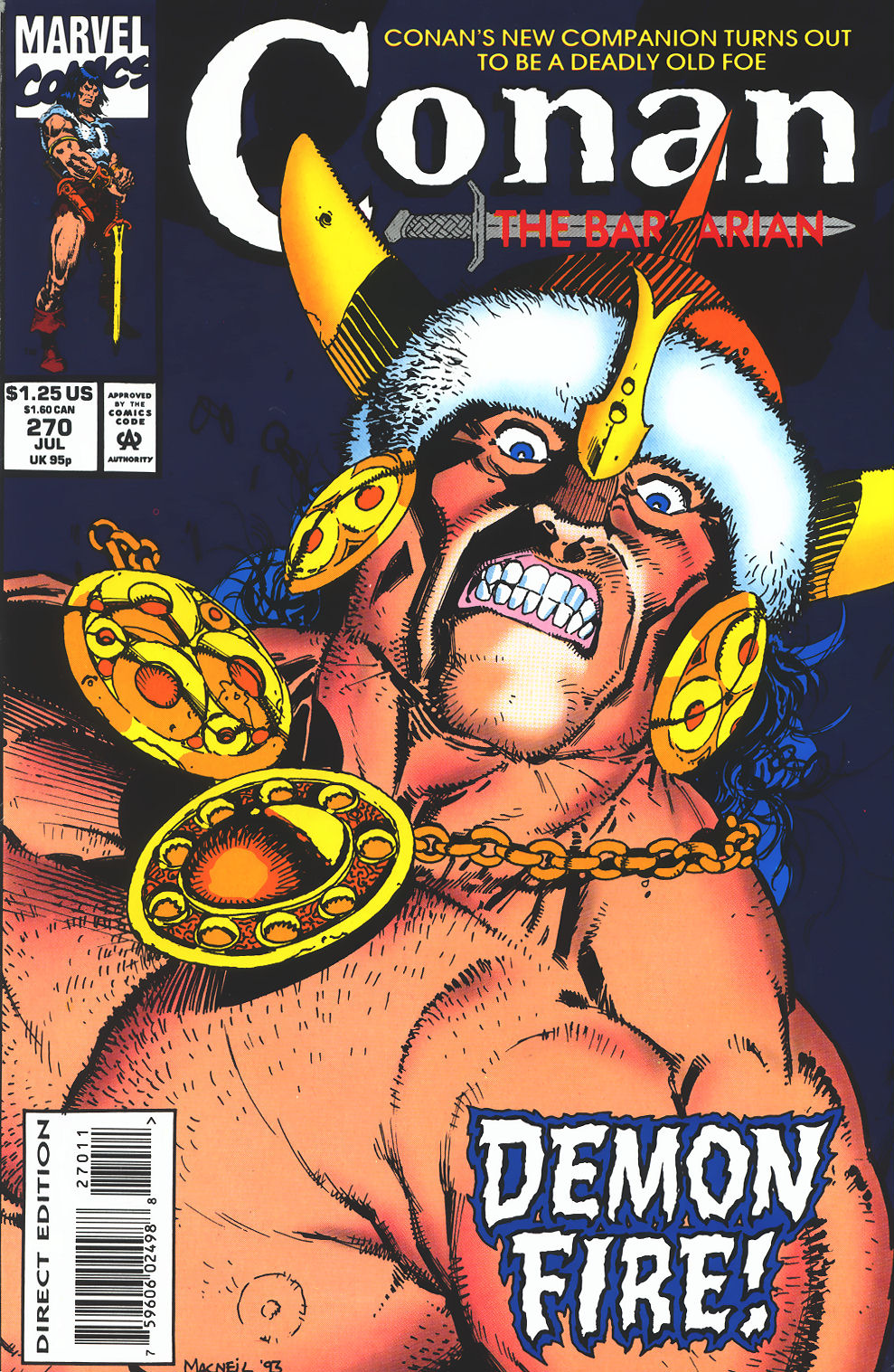 Conan the Barbarian (1970) Issue #270 #282 - English 1