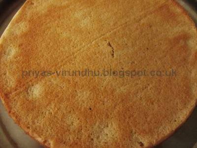 Delicious Simple & Versatile Vanilla cake isready. Enjoy the cake by ...