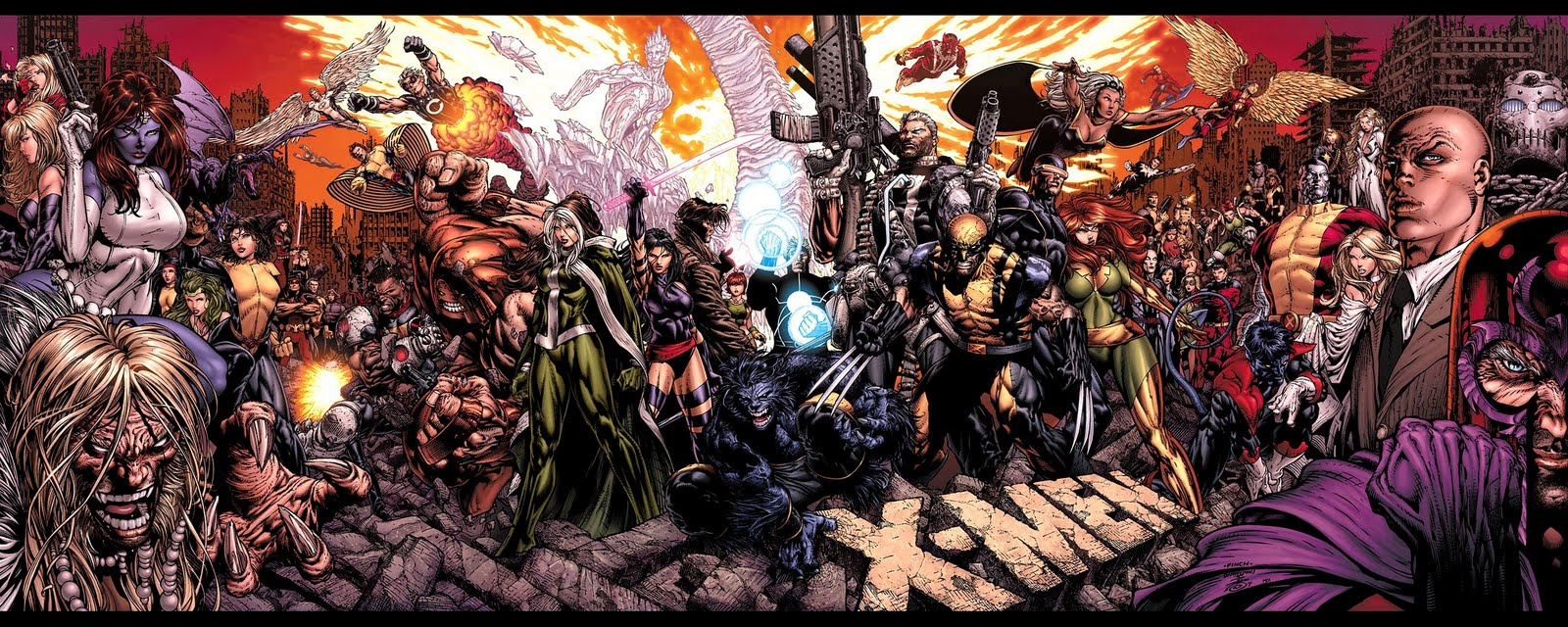 Download free all marvel comics together hd desktop wallpapers high