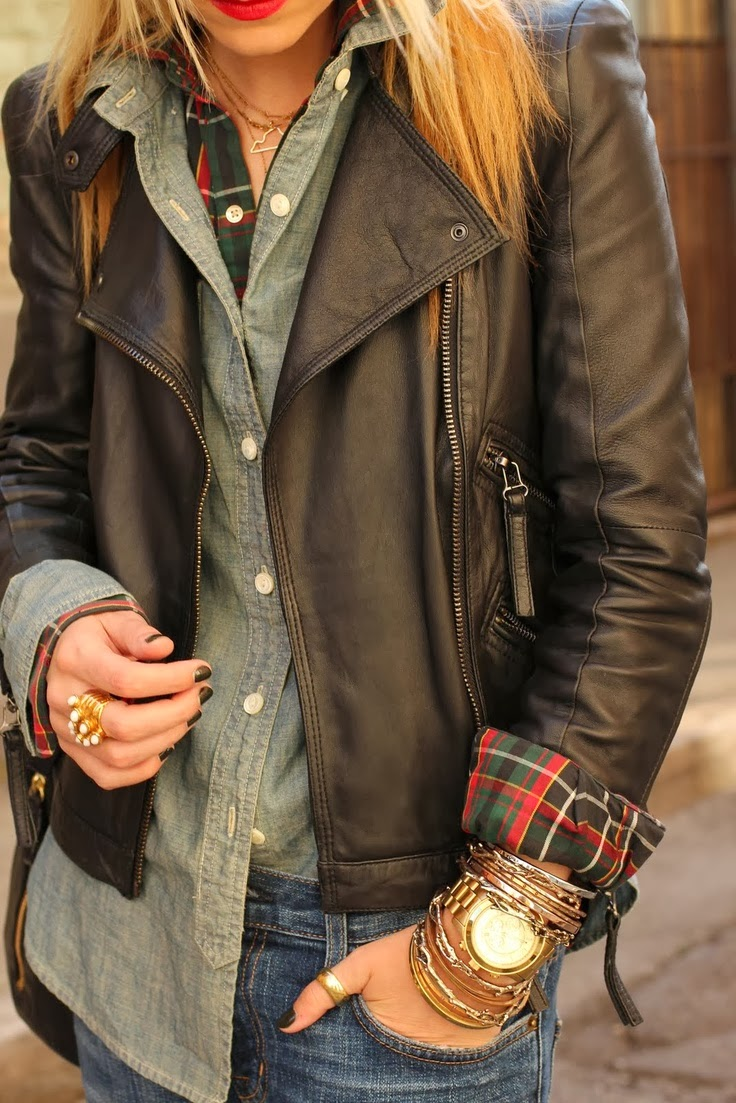 This Leather Jacket Is Perfect For All Weather