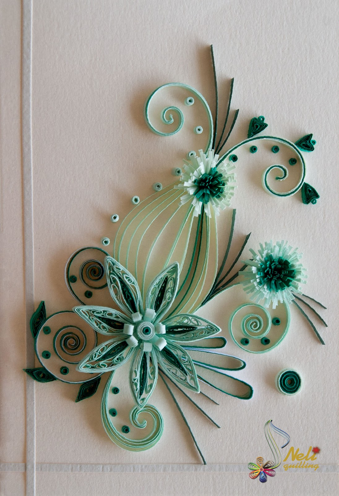 Quilling cards on pinterest neli quilling quilling for Quilling how to