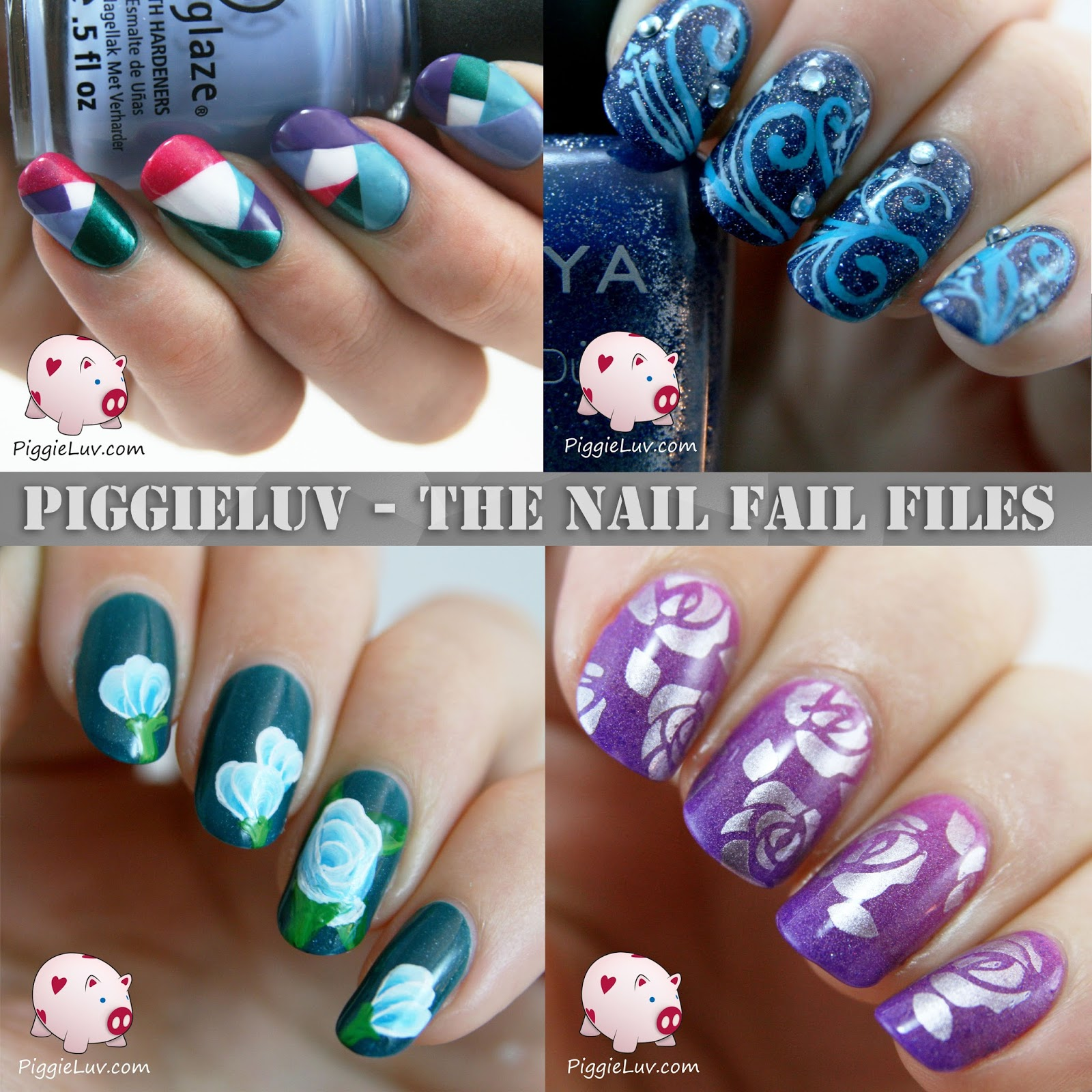 Piggieluv The Nail Fail Files Second Episode