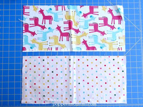 Reusable Fabric Sandwich Bag fabric | popperandmimi.com