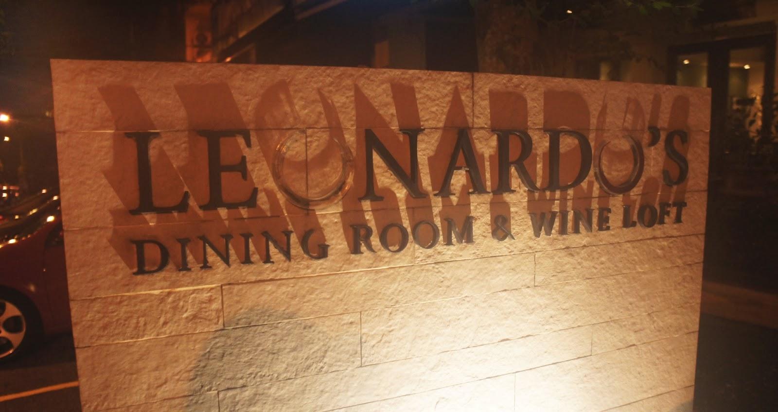 Waiii sek meowsss leonardo 39 s dining room loft bangsar for Leonardo s dining room
