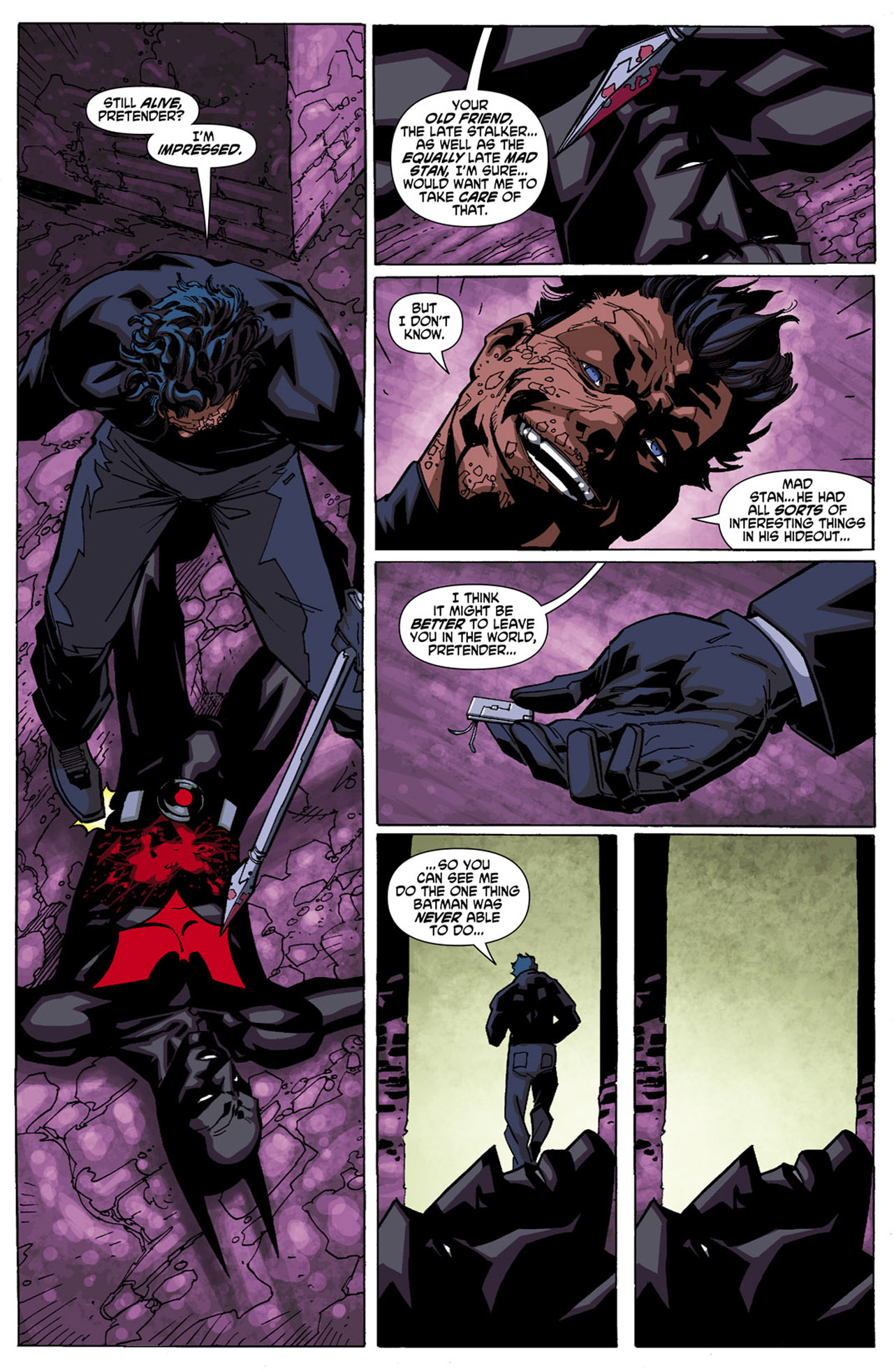 Batman Beyond (2010) Issue #5 #5 - English 5