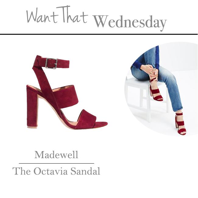 Madewell   Octavia Sandal