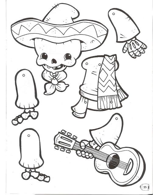 Imagenes calaveras para imprimir - Imagui