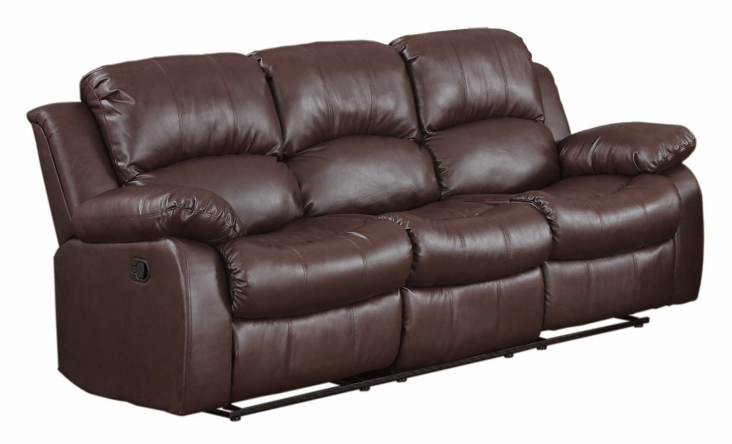 Cheap Faux Leather Recliner Sofas