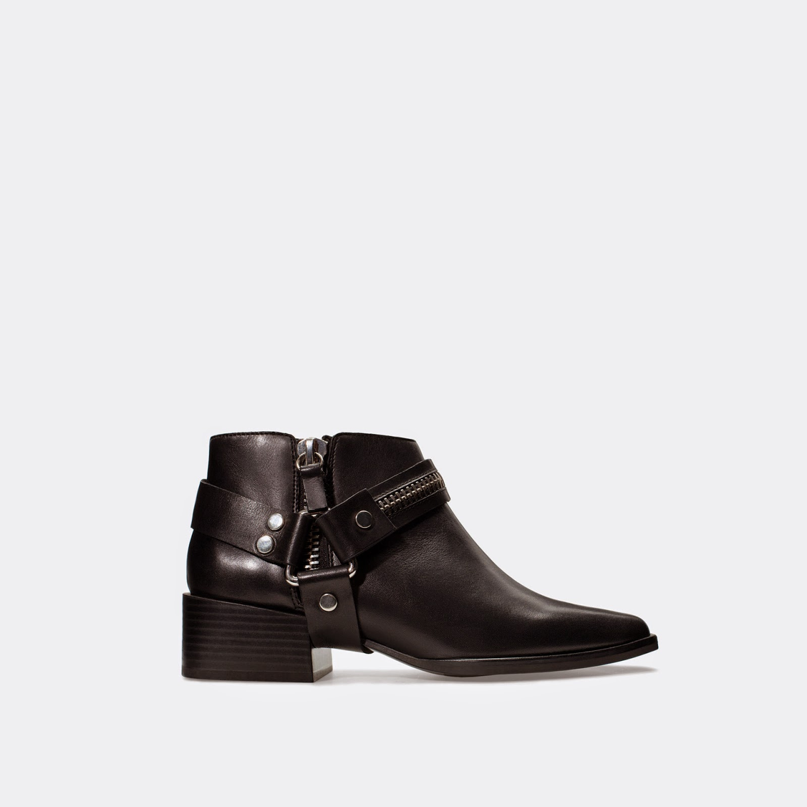 zara boot buckle