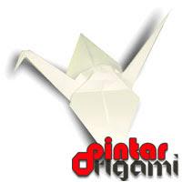 Cara Membuat Origami Bangau