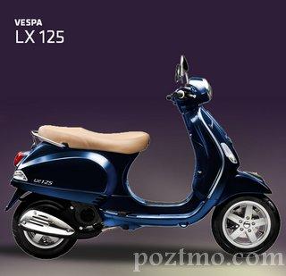 harga - spesifikasi Piaggio Vespa LX 150