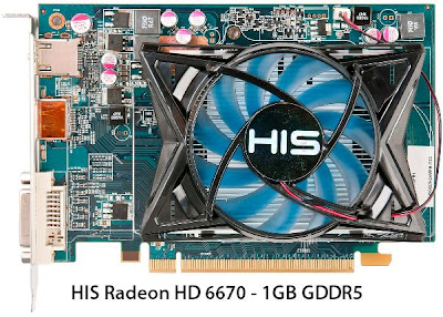 HIS 6670 1GB GDDR5