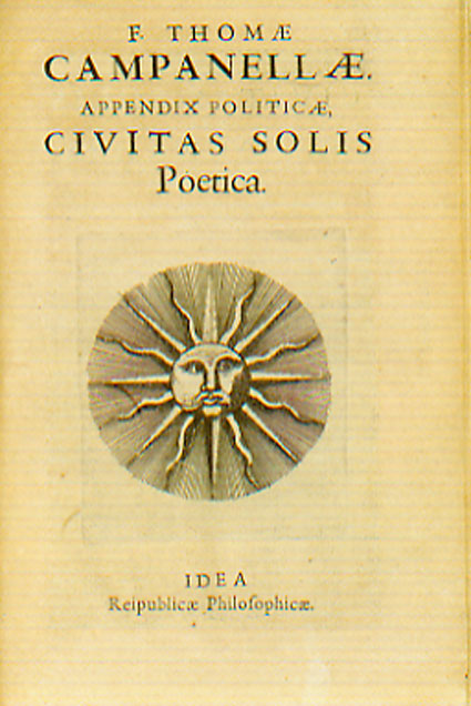 an analysis of the document the city of the sun by tommaso campanella