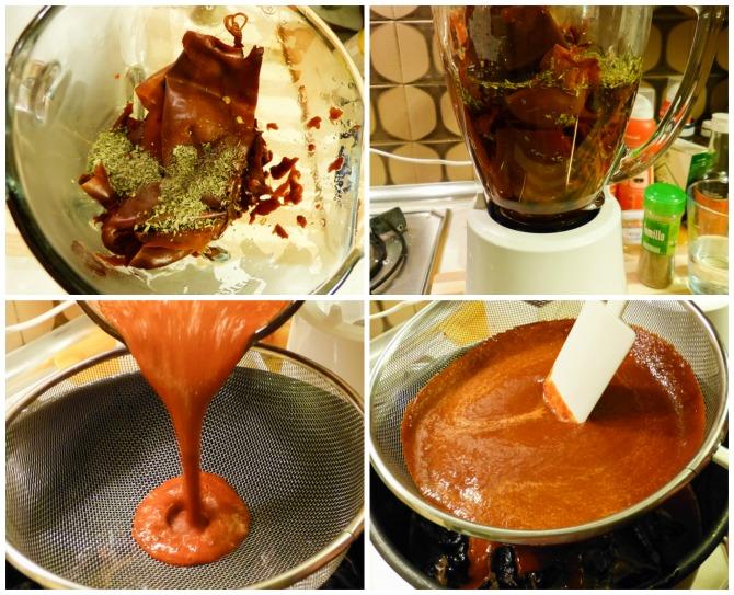 Salsa de chile guajillo para cochito