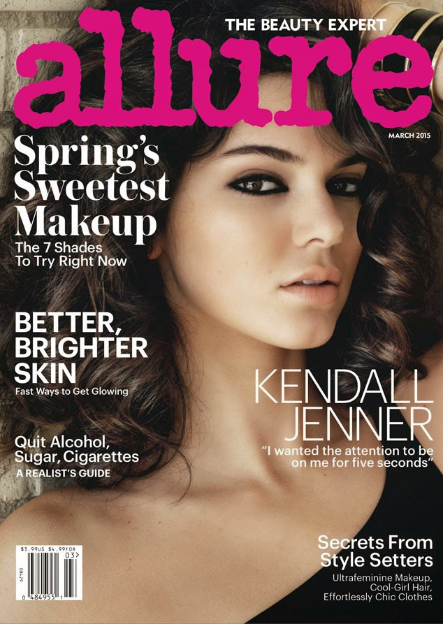 Kendall Jenner in Allure, March 2015