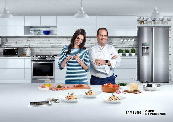 Línea-Blanca-Samsung-Harry-Sasson-enseñan-mejores-recetas-gastronomía-latinoamericana